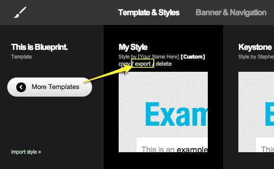 Squarespace 5 Help - Choosing And Customizing A Template Squarespace5