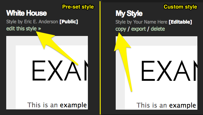 Give Your Style A Distinctive Name Like Blog And Click Create